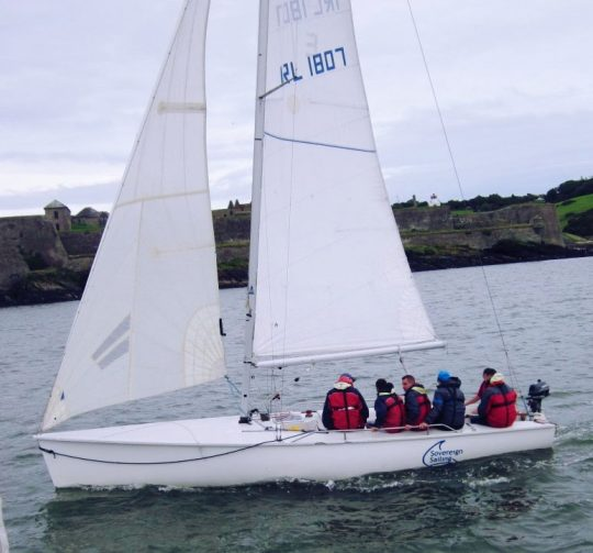 Sovereign Sailing Cork Sailing Course Family Day Yacht Charter family-sailing-1720